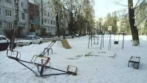 Брянец рассказал о войне пенсионеров с каруселью на детской площадке