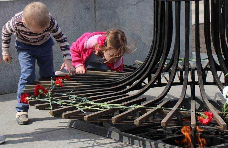 В Брянске в субботу потух Вечный огонь на площади Партизан