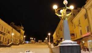 В Брянске возобновили реконструкцию лестницы на бульваре Гагарина