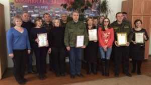 Лесопожарная служба Брянской области отметила десятилетие работы