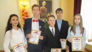 Школьники обрушили на Брянск олимпийский звездопад