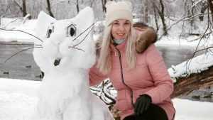 Брянцы удивили в сети снимками созвездия снеговиков