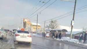 В Брянске дорожники справились с потопом на проспекте Станке Дмитрова