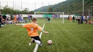 Более 4000 сирот побывают на футбольных матчах «Будущее зависит от тебя»