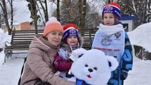 Более тысячи брянских партийцев приняли участие в «Лыжне России – 2018»