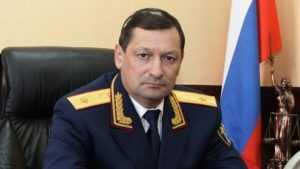 Главу Брянского управления СК Литвинова перевели в Калугу