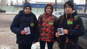 В Брасовском районе волонтёры напомнили брянцам о героях войны
