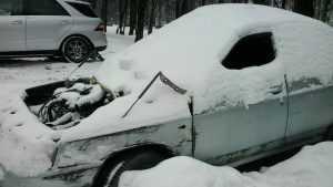 В Брянске варвары растерзали самый живописный автомобиль города