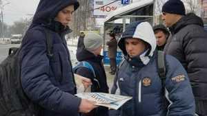 В Брянске кавалеристы Собчак распугали прохожих газетой «Ксения»