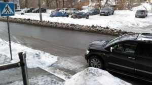 Брянцев возмутила парковка залетного водителя «Инфинити» на переходе