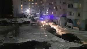 В Брянске сняли видео о перекрывшем проезд машине «скорой» автохаме