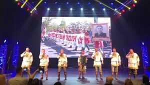 Ансамбль «Ватага» поздравил брянцев с Днём защитника Отечества