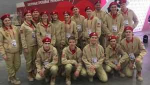 Брянские юнармецы встретились с Никитой Михалковым и Егором Кридом
