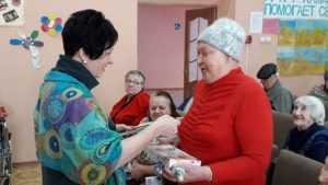 Депутат Госдумы Валентина Миронова поздравила добрых людей в интернате