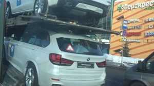 В Москве сняли BMW для брянского лыжника Большунова и других олимпийцев