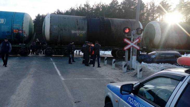 С начала года на железнодорожных переездах в Брянской области произошло 2 ДТП