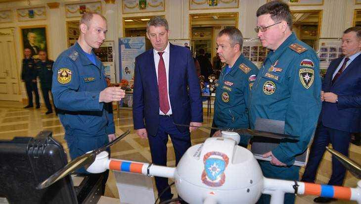 Брянское правительство увеличило число бойцов гражданской обороны