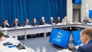 Брянская делегация принимает участие в заседании МКС по ЦФО в Туле