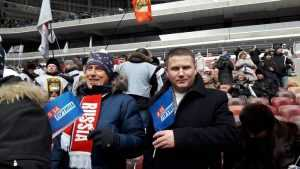 Делегация брянской «Опоры России» приняла участие в митинге-концерте «За сильную Россию!»