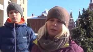 Бывшая жительница Брянска провела пикет у Кремля