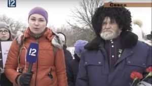 Телеканал Омска рассказал о митинге памяти лыжной бригады в Севске