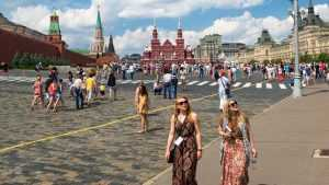Количество въезжающих в Россию туристов из США увеличилось на 25 процентов