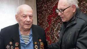 Брянский разведчик Константин Панасенко отпраздновал 95-летие