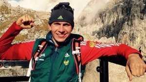 Брянский лыжник Александр Большунов выиграл гонку на этапе Кубка мира