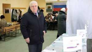 Прокурор Брянской области Войтович проголосовал на выборах президента