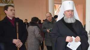 В Дятькове проголосовал Митрополит Брянский и Севский Александр