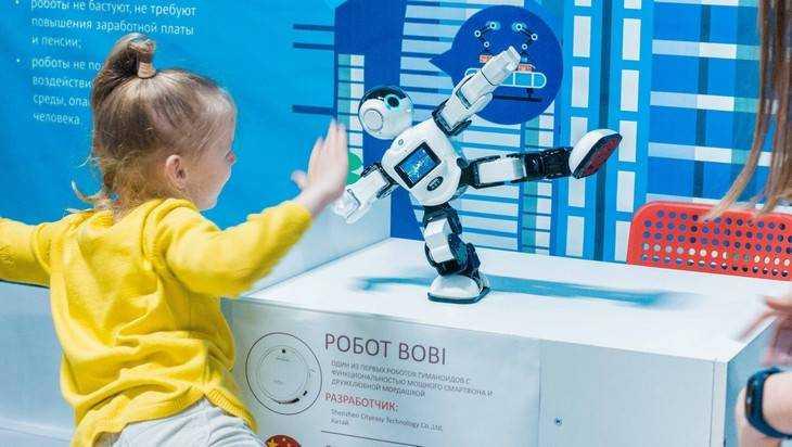 Выставка роботов в Брянске: R2-D2, нейрогаджеты и роботы-гуманоиды