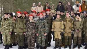 В Брянской области ряды юнармейцев пополнили 90 юношей и девушек