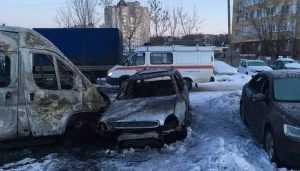 Брянцы подтвердили версию о поджоге 5 машин из-за мести маршрутчиков