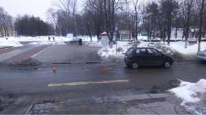 В Брянске водитель автомобиля сбил на «зебре»  11-летнюю девочку