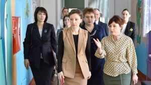 Посланница президента посетила скандальный интернат в Жуковке