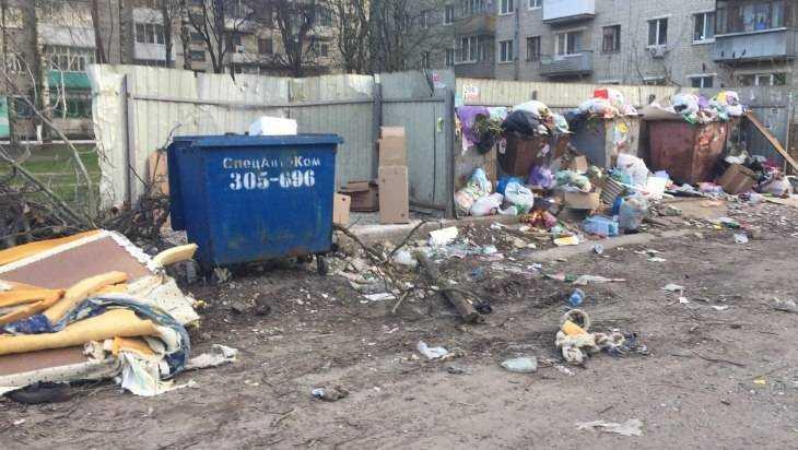 В центре Брянска детский сад задохнулся от мусорной вони