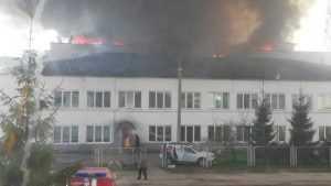 В Большом Полпине случился страшный пожар