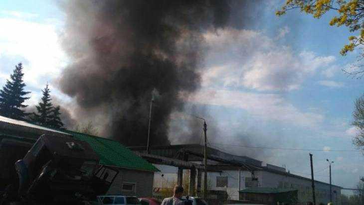 Брянское управление МЧС рассказало о крупном пожаре в поселке Большое Полпино
