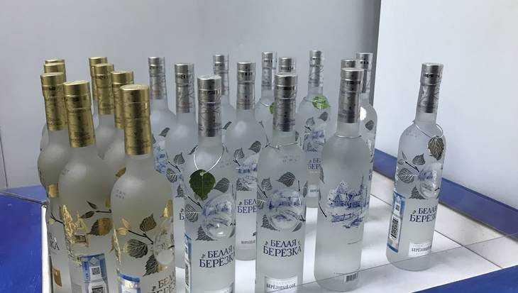 Брянское УФСБ и полиция изъяли у нелегалов алкоголя на 9655120 рублей