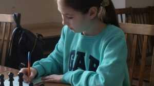 Брянская школьница Полина Волегова выиграла шахматный «Кубок регионов»