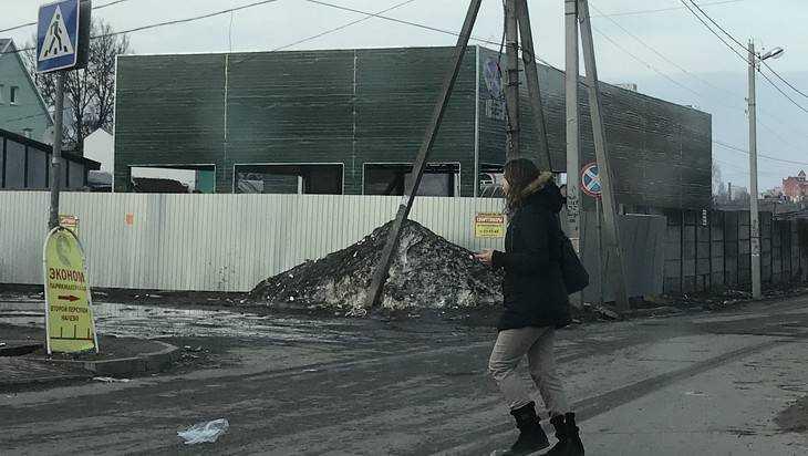 «Они с ума сошли»: в Брянске у Центрального рынка стали строить сарай