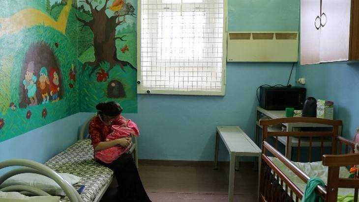 В брянском СИЗО камеру превратили в квартиру для матерей с детьми