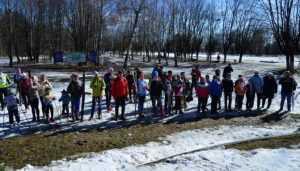 В Брянске лыжники провели посвященные празднику Пасхи гонки