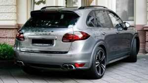 В Брянске задержали похитителя Porsche Cayenne