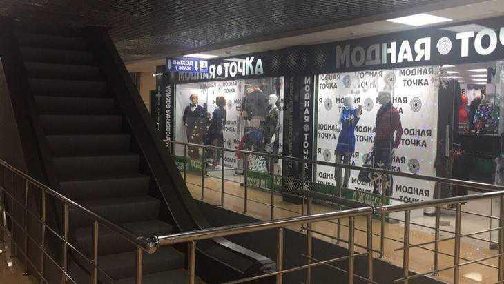 В Брянске напомнили о загадочной лестнице в закрытом ТРЦ Тимошковых