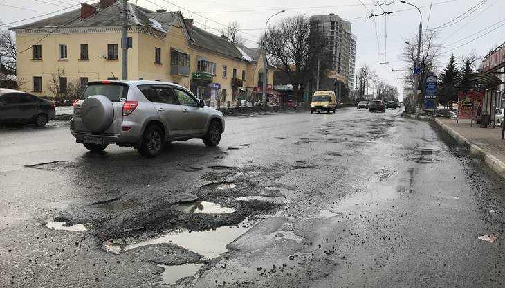 Дорожные разрушения в Брянске стали катастрофичными