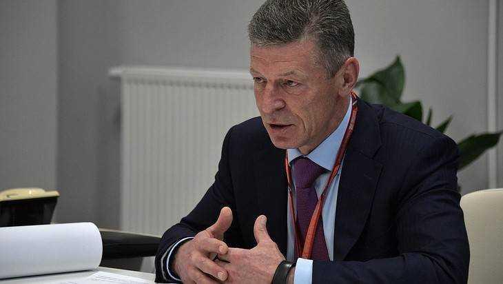 Брянский губернатор Богомаз встретился с вице-премьером Козаком