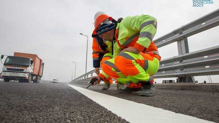 Брянцы освоят выпуск материла, используемого строителями Крымского моста