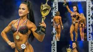 Светлана Бельцева из Брянска победила в чемпионате по бодифитнесу