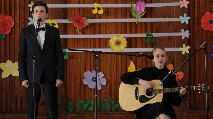 Среди школьников Брянска прошел конкурс английской песни